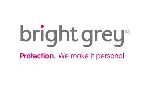 bright grey logo