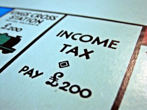 UK income tax monopoly